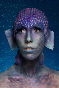 Seems mermaid-esque to me?  El School of Professional Makeup