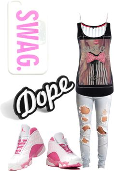 """Do My Swagged Out Dance!"" by yah-mindless-girl ❤ liked on Polyvore"