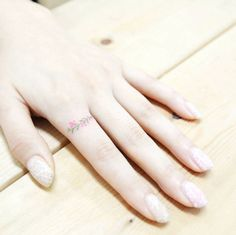 Floral Ring Tattoo by Banul