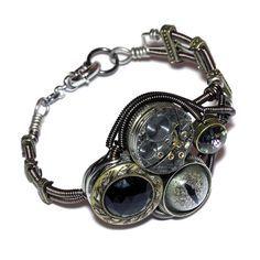 steampunk eye locket watch jewelry - Google Search