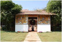 At Art of Living International Center, Bangalore