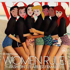 Disney #vogue Model of the 90's