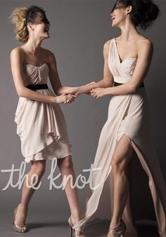 Watters Maids Bridesmaid Dress- right hand side