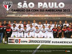 São Paulo campeão da Copa Sul-Americana 2012