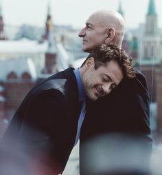 """Robert Downey jr. and Ben Kingsley... 500px / Photo """"Iron Man 3 Moscow photo call"""" by Artificial 000"""
