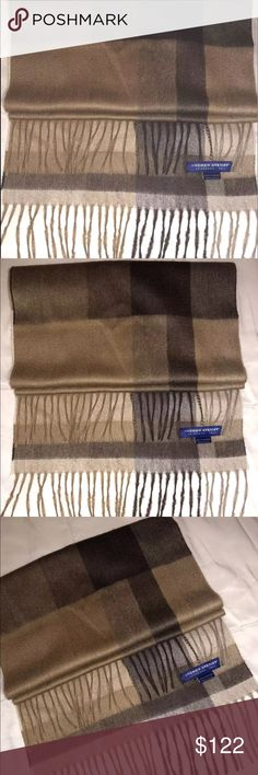 CASHMERE ANDREW STEWART LONG SCARF SHAWL WRAP Cashmere ANDREW STEWART CASHMERE PLAID FRAYED LONG SCARF SHAWL WRAP. New without tag. Never worn. •100% Cashmere • 12 1/2 inches wide, 72 inches long • Scotland 1872 • made in Italy  •Please see all pictures  •Come from a smoke free and pet free home. Measurement approximates:(All measured with garment laying flat). ANDREW STEWART Accessories Scarves & Wraps