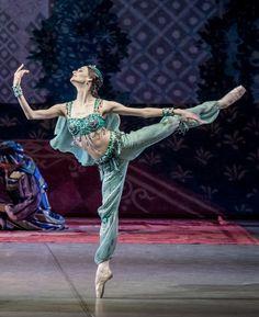 Anastasia Soboleva as Gulnara in Le Corsaire. Photo by Jack Devant