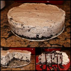 Easy Ice Cream Cake Recipe using only 5 ingredients!