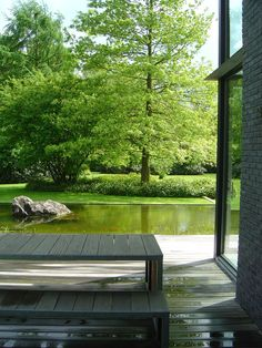 A garden is a planned space , enjoyment of plants and other forms of nature Outdoor Living Patios, Outdoor Landscaping, Backyard Patio, Outdoor Gardens, Amazing Gardens, Beautiful Gardens, Landscape Design, Garden Design, Atrium Design