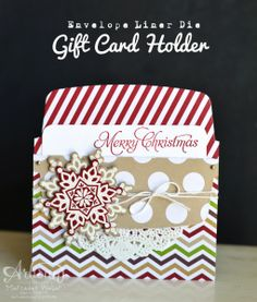 Envelope Liner Die - Mercedes Weber,Saw this cute idea on Patty Bennetts blog. TFL!