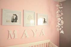quarto bebe feminino rosa cinza apaixonante