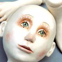 Learn to Paint Whimsical Doll Faces with Marlaine Verhelst | CRAFTCAST with Alison Lee