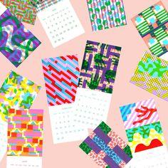 12 terrific calendar designs for 2017 | Creative Bloq