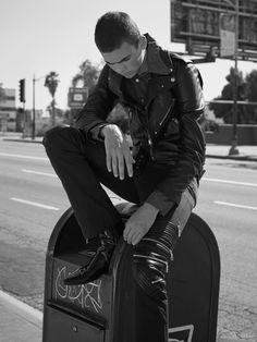 Hable Con Ella, Shot in East LA Photo: @lowe_h_seger Fashion: Luka Smorgon @lucasmorgon89 Model: @CooperLatimer Grooming: @CamillaOrosco Production: @FOX&LEOPARD Producer / Casting: @MeaganJudkins @DanskMagazine #EastLA #LosAngeles #CooperLatimer #lucasmorgon #CamillaOrosco #MeaganJudkins #foxandleopard #fashion #DanskMagazine #lowehseger