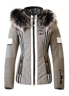 Sportalm s Grey Ski Jacket for Women. Stefan Kaelin 67ac6e2ae