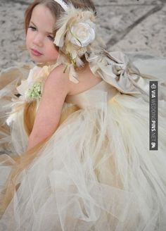 Wow - Champagne Satin Princess Flower Girl Tutu Dress | CHECK OUT MORE IDEAS AT WEDDINGPINS.NET | #weddings #rustic #rusticwedding #rusticweddings #weddingplanning #coolideas #events #forweddings #vintage #romance #beauty #planners #weddingdecor #vintagewedding #eventplanners #weddingornaments #weddingcake #brides #grooms #weddinginvitations