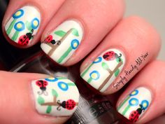 Ladybug Nails | Looking FANCY
