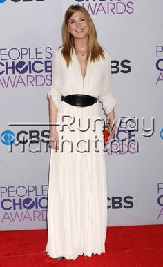 """Ellen Pompeo at the 2013 """"People's Choice Awards"""" at the Nokia Theatre LA LIVE in Los Angeles, California - Jan 9, 2013 - Photo: Runway Manhattan/Celebrity Photo"""