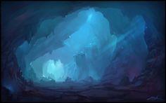 """""""Cave"""" by Zoriy on deviantart"""
