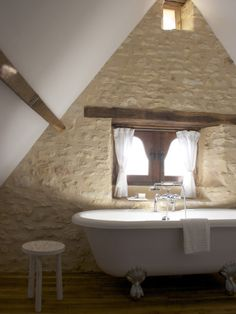 houseandhomepics:bedroom by Stephmodo http://www.houzz.com/photos/995936/La-Maisonnette-Beynac-et-Cazenac-France-rustic-bedroom-other-metro