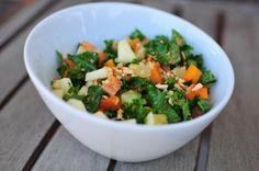 Citrus Kale Salad | Nosh and Nourish