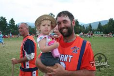Lake Placid Sunday Sights and Sounds | ILGear.com (Here: Ryan Powell and his daughter, Piper)