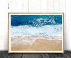 On-trend art & home of the original peek-a-boo animals. by LILAxLOLA Beach Theme Wall Decor, Beach Themes, Frames On Wall, Framed Wall Art, Trending Art, Water Walls, Contemporary Wall Art, Beach Print, Texture Art