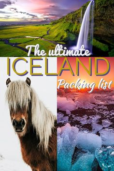 Packing list for Iceland. If it's your first time heading to the Nordic country you are not alone. Before my trip to Iceland, I had no idea what to pack in my bag.