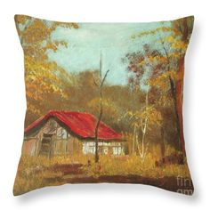 Barn in the Forest Art Print by Vesna Antic. All prints are professionally printed, packaged, and shipped within 3 - 4 business days. Canvas Art, Canvas Prints, Art Prints, Original Art, Original Paintings, Forest Art, Arte Popular, Old Barns, Art Pages