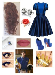 """Descendants-Ben's Sister"" by random-girl-with-dreams ❤ liked on Polyvore featuring Lattori, PrimaDonna, Chamilia, Mawi, She's So, Disney, women's clothing, women, female and woman"