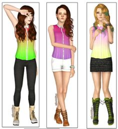 Sims 3 Finds - Cute Blouse at Pastel Sims