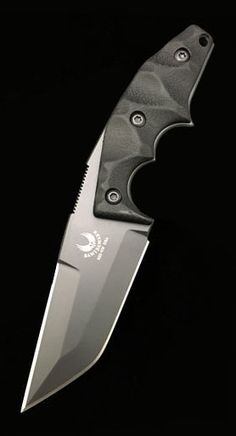 BAWIDAMANN BB POGN-L Drop Point Tactical Combat Fixed Knife Blade