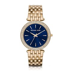 5b313e1f7 Shop for Michael Kors Women's 'Darci' Crystal Gold-Tone Stainless Steel  Watch. Get free delivery at Overstock - Your Online Watches Store! Relógios  Web Shop