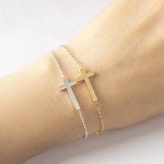 This is a great item! Horizontal Sidewa... Here: http://nvr2lte2shop.com/products/horizontal-sideways-cross-bracelet?utm_campaign=social_autopilot&utm_source=pin&utm_medium=pin