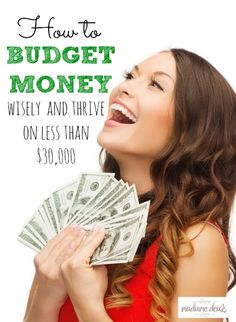 Want to save money, pay debts and live a good life? Learn How to Budget Monthly finances and thrive on less than $30,000.