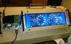 Digital Dashboard with UDOO.