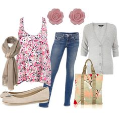 Autumn outfit or spring outfit