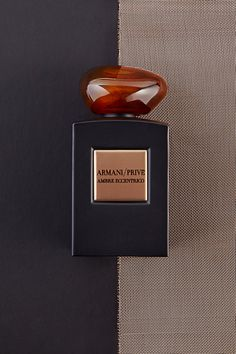 Armani Prive Ambre Eccentrico. Long, dark days call for a scent that's arm, woody and comforting. Armani Prive's unexpected concoction of amber and wood offers the perfect dose of warmth, even on the coldest winter day