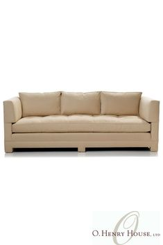 Henry House's collection of custom, quality upholstered sofas. Outdoor Sofa, Outdoor Furniture, Outdoor Decor, Transitional Sofas, New Homes, House, Ideas, Home, Thoughts
