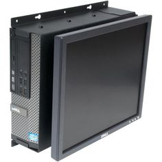 Rack Solutions Wall Mount for Flat Panel Display Desktop Computer