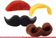 Soaps shaped like moustaches. Need I say more?