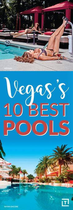 We'll happily beat the heat/party/drink/whatever around any one of Las Vegas' 10 best pools -- preferably a topless one. Las Vegas Love, Aria Las Vegas, Las Vegas Tips, Las Vegas Outfit, Las Vegas With Kids, Visit Las Vegas, Vegas 2017, Best Pools In Vegas, Palms Las Vegas