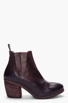 MARSELL Espresso Torsolino Ankle Boots