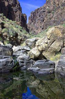 Senderistas Gran Canaria: RUTA: Barranco Hondo - El Berriel - Arco del Coronadero