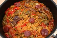Fast Healthy Meals, Healthy Dinner Recipes, Spanish Rice, Paella, Pizza, Ethnic Recipes, Mille, Food, Pain