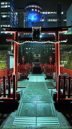 Odaiba at Night, Tokyo, Japan