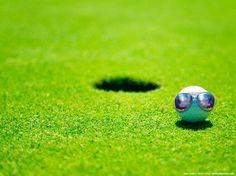 Aviators on Golf Ball
