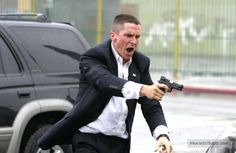 Harsh Times publicity still of Christian Bale