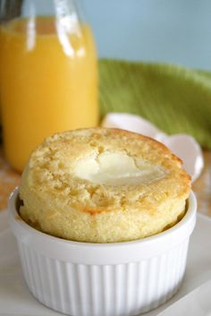 Dreamsicle Popovers, made with Florida Orange Juice