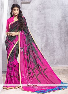 Lustre Casual Saree For Casual